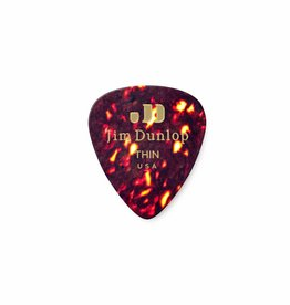 Dunlop Genuine Celluloid Classic Picks shell thin
