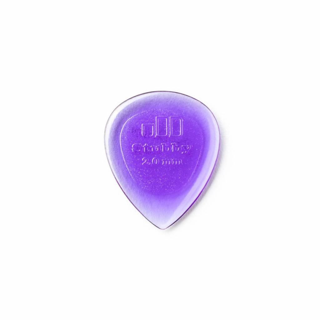 Dunlop Stubby Jazz Picks light purple 2.00 mm