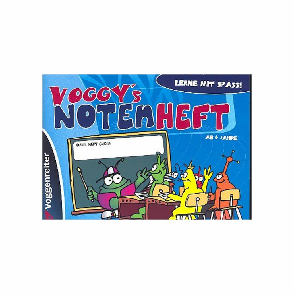 Voggenreiter Voggenreiter - Voggy's Notenheft