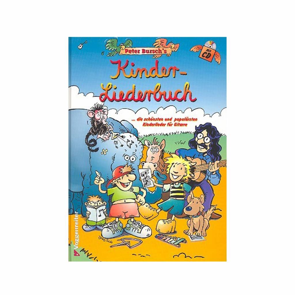 Voggenreiter Voggenreiter Peter Bursch's Kinderliederbuch für Gitarre