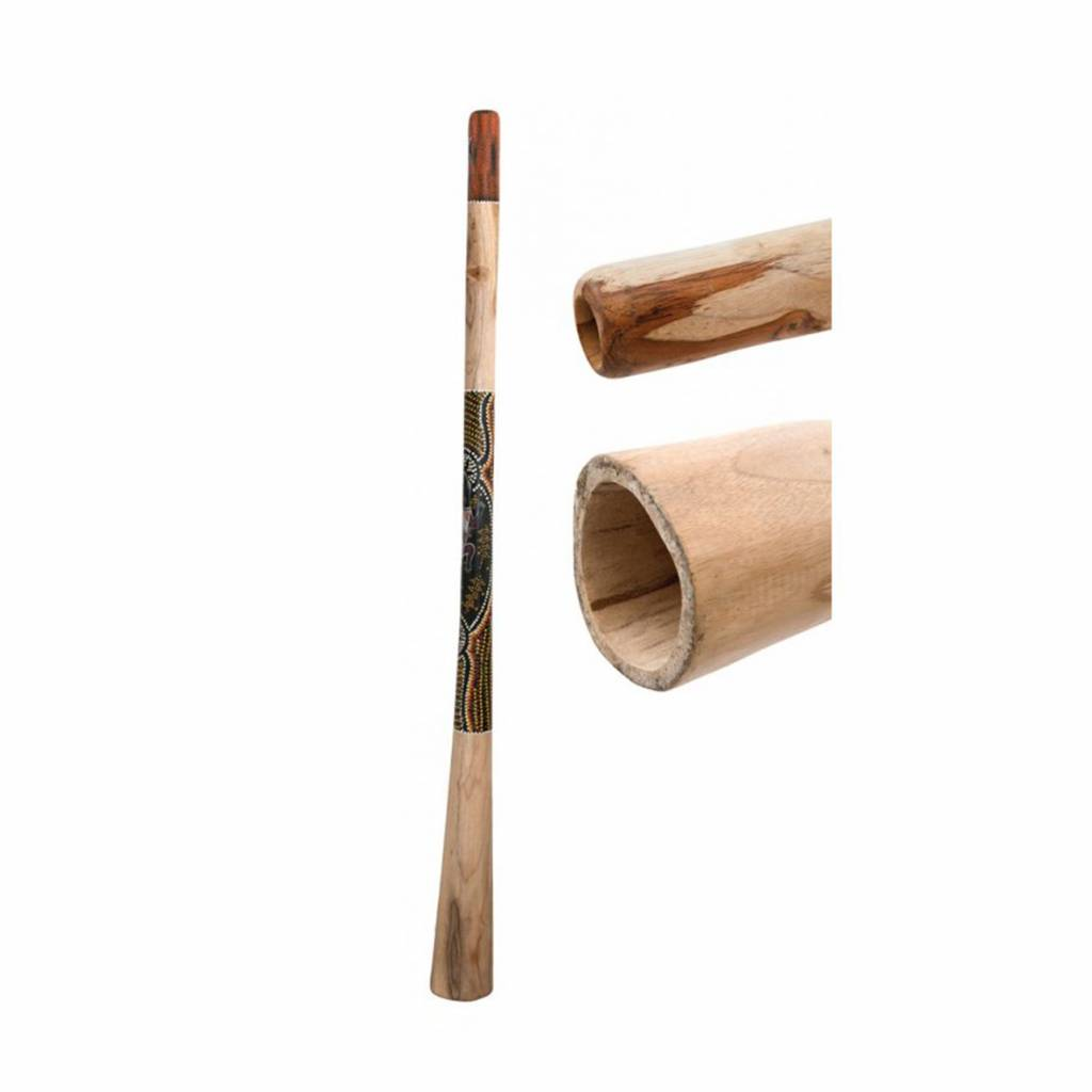Terre Terré Didgeridoo Teak 150cm bemalt 38140014
