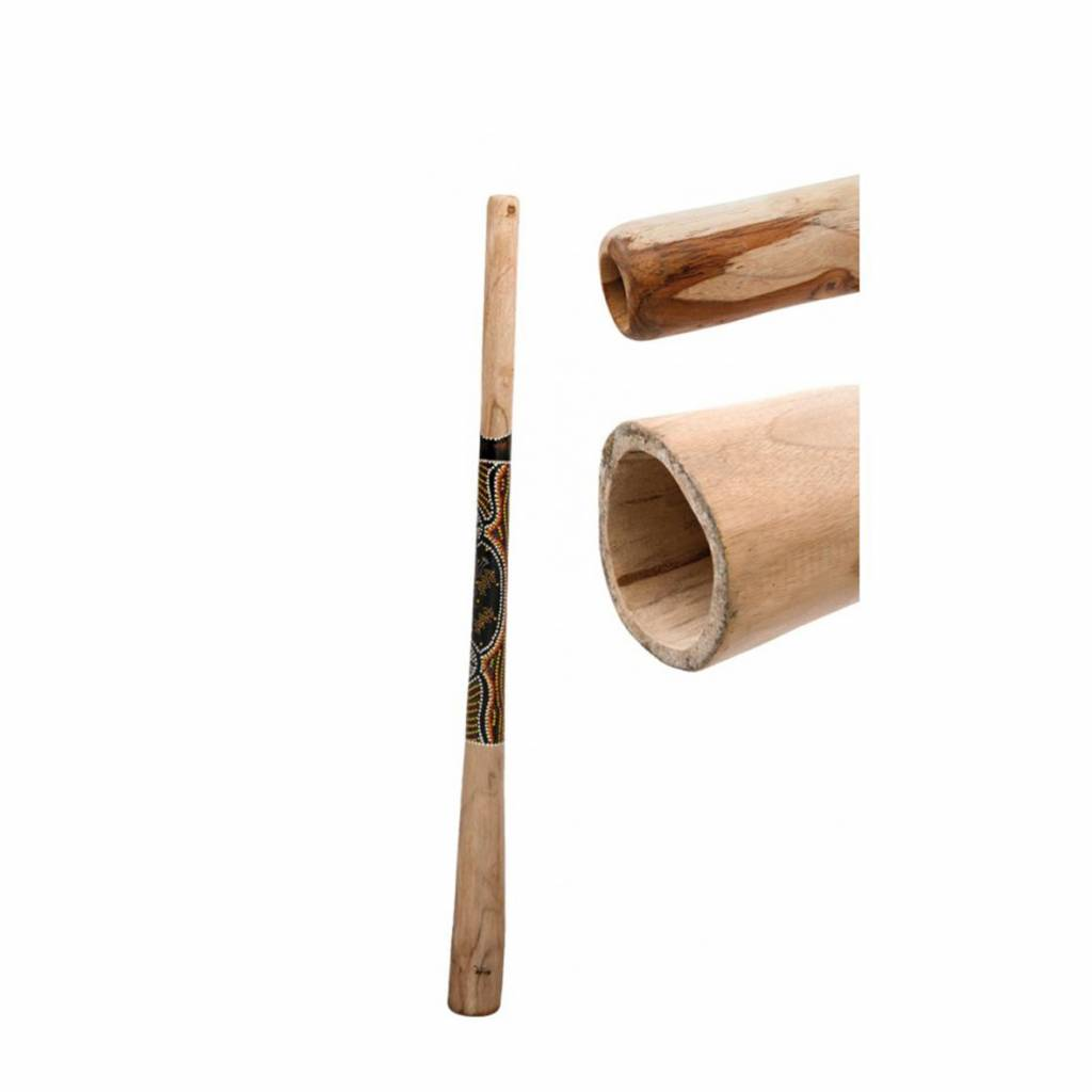 Terre Terré Didgeridoo Teak 130cm bemalt