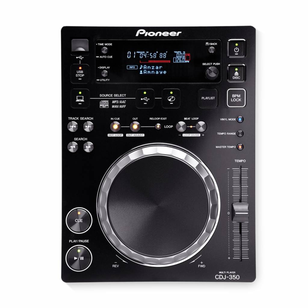 Pioneer CDJ-350 Single Player - Vermietung