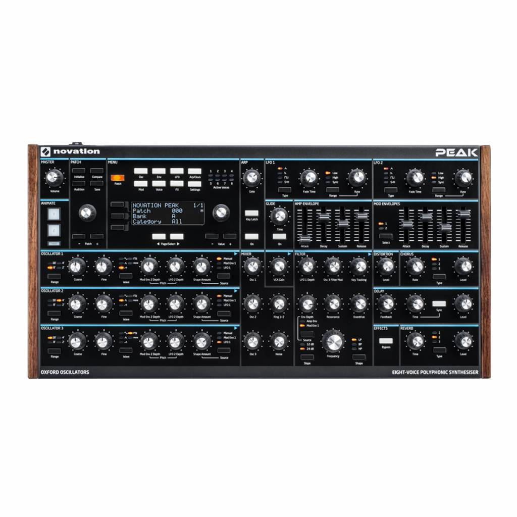 Novation Novation Peak 8 stimmiger analog Synthesizer