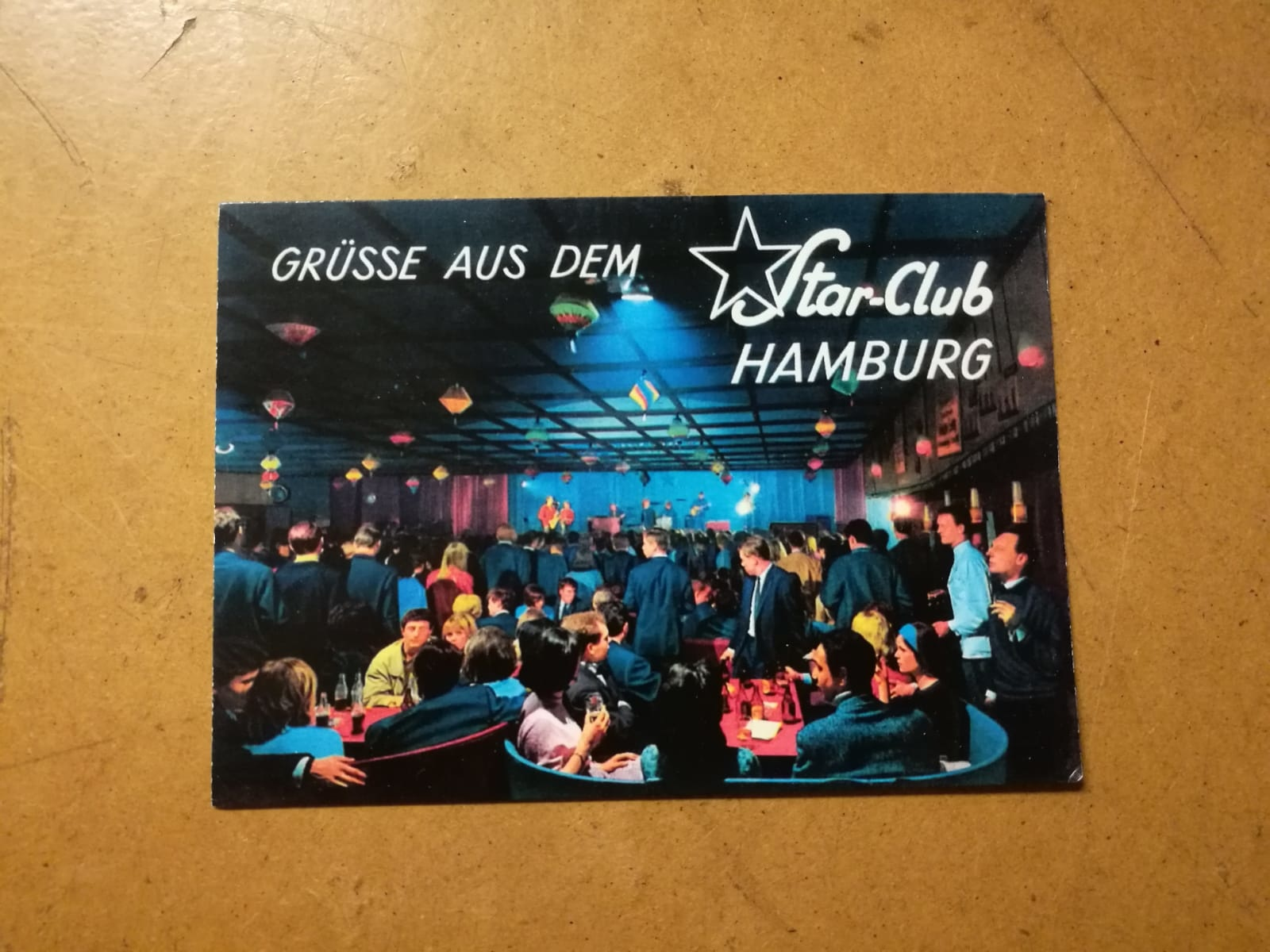 Star-Club Star Club Postkarte