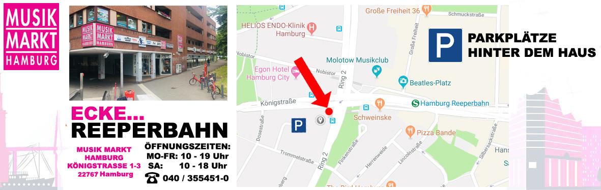 Musik Markt Hamburg: Musikgeschäft für Musikinstrumente