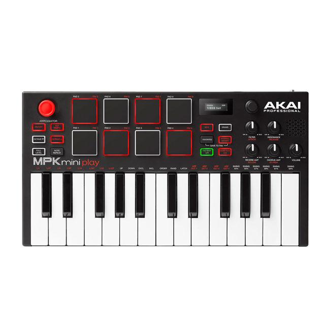 AKAI Akai MPK miniplay Standalone Mini USB Keyboard Controller