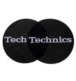 Technics Technics Slipmat  schwarz weiss 2 Stück
