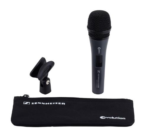 Sennheiser Sennheiser E 835 S dynamisches Mikrofon