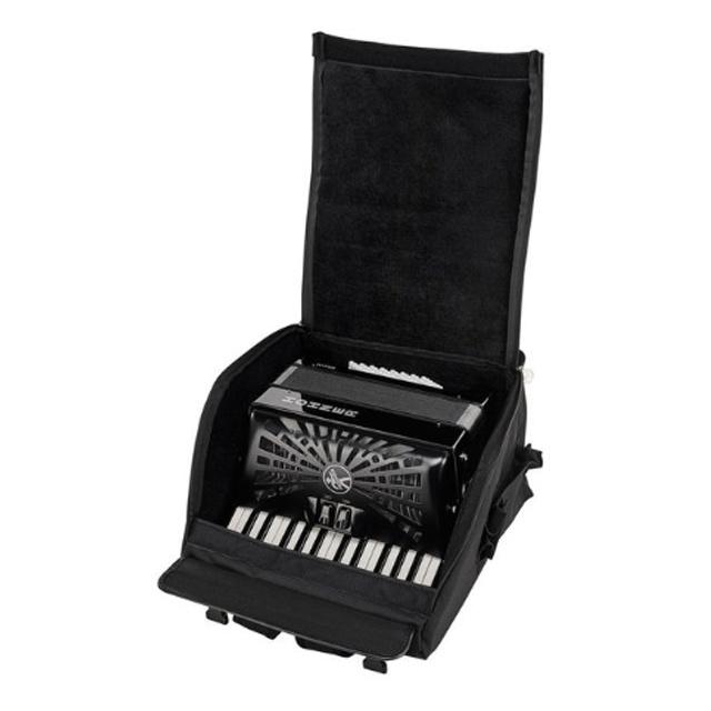 Hohner Hohner Bravo II 48 Black silent key