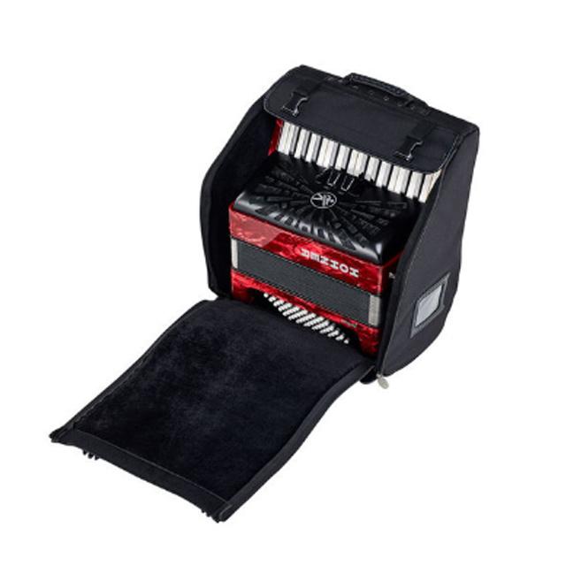 Hohner Hohner Bravo II 48 Red silent key
