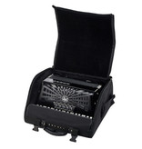 Hohner Hohner Bravo III 72 Black silent key black