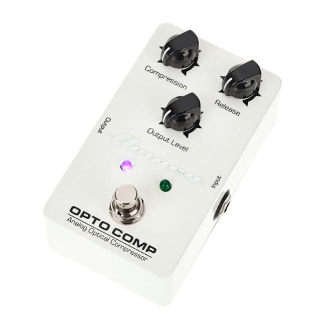 Ampeg Ampeg Opto Comp Effektpedal für E-Gitarre und E-Bass