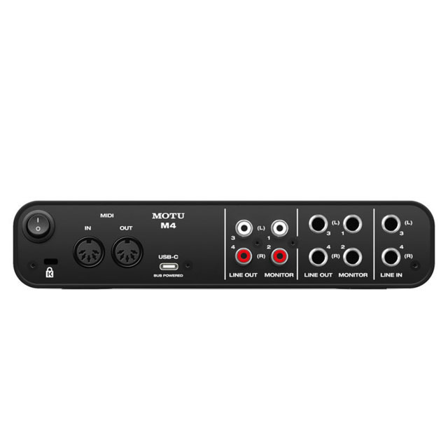 Motu  MOTU M4 4-Kanal USB Audio-Interface