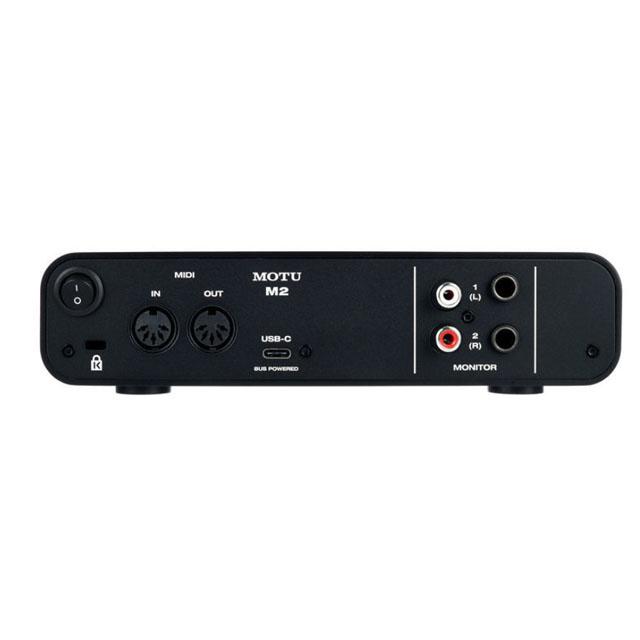 Motu  MOTU M2 Audio-Interface 2 Kanal mit USB C