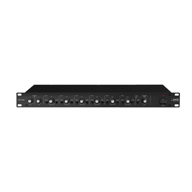 IMG Stageline LMS 808 Mikrofon-Line-Mischer/Line-Splitter