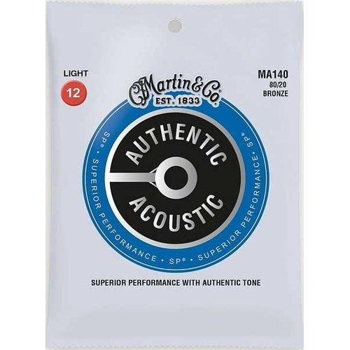 Martin & Co. Martin Acoustic Saiten - MA 140 - 80/20 Bronze - 12-54