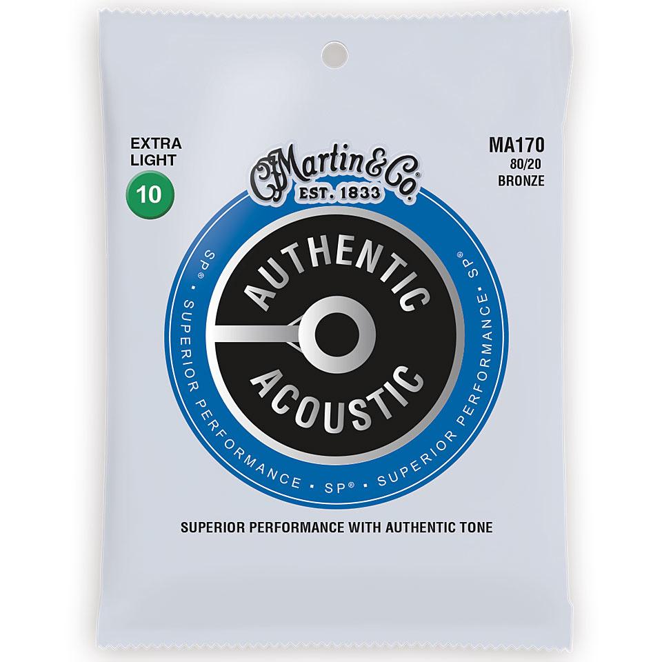 Martin & Co. Martin Acoustic Saiten - MA 170 - 80/20 Bronze - 10-47