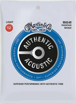 Martin & Co. Martin Acoustic Saiten - MA 540 - Phosphor Bronze - 12-54