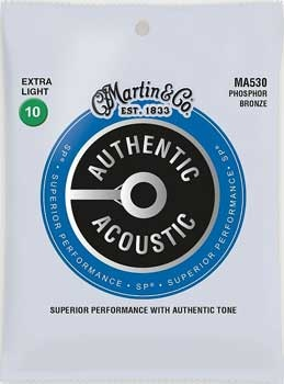 Martin & Co. Martin Acoustic Saiten - MA 530 - Phosphor Bronze - 10-47