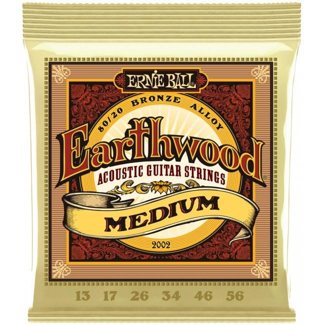 Ernie Ball Ernie Ball - Earthwood - Medium - 2002 - 80/20 Bronze - 13-56