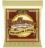Ernie Ball Ernie Ball - Earthwood - Medium Light - 2003 - 80/20 Bronze - 12-54