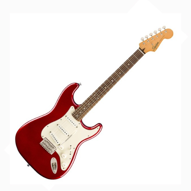 SQUIER Squier Classic Vibe 60s Stratocaster LRL, Candy Apple Red