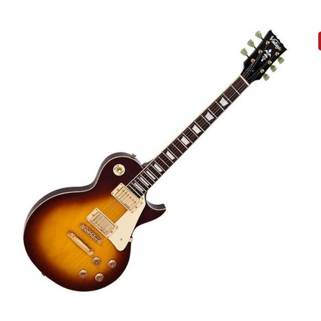 Vintage Gitarre Vintage Reissued V100TSB Single Cut