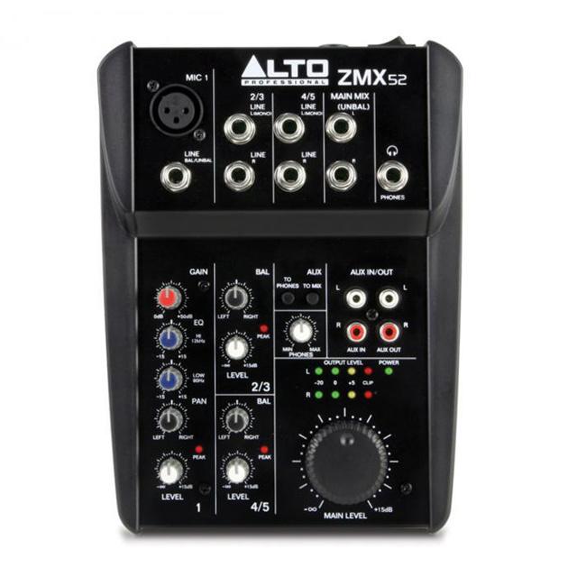 ALTO ALTO Zephyr ZMX52 5-Kanal Mixer