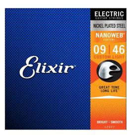 Elixir Elixir - 09-46 - Nanoweb Custom Light - 12027 - Nickel Plated Steel