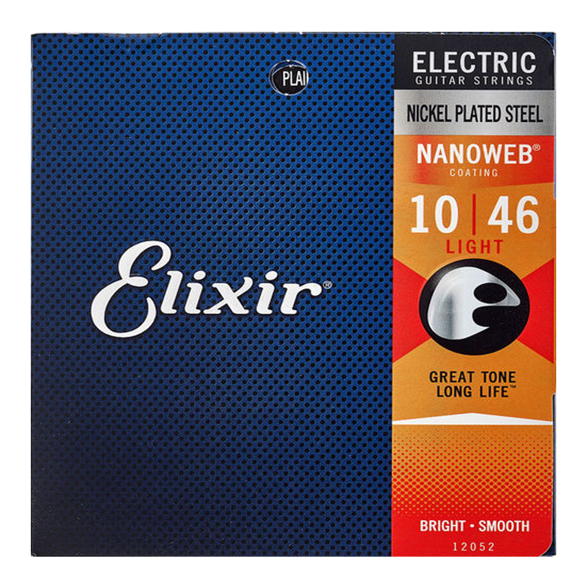 Elixir Elixir - 10-46 - Nanoweb Light - 12052 - Nickel Plated Steel