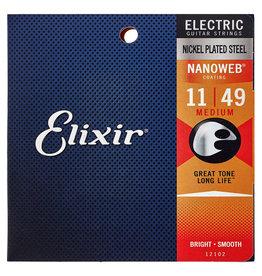 Elixir Elixir - 11-49 - Nanoweb Medium - 12102 - Nickel Plated Steel