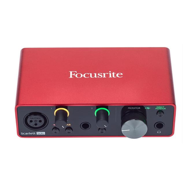 Focusrite Focusrite Scarlett Solo 3rd Gen