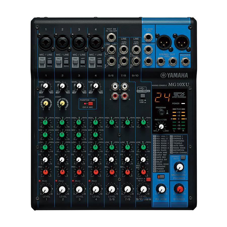Yamaha Yamaha MG10XU analog Mixer mit Effekten