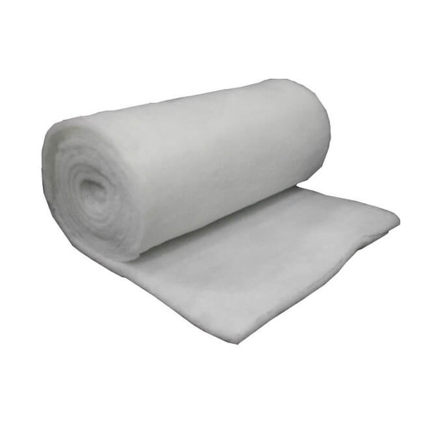 Fiberfill op rol 100 grams, 160 cm breed
