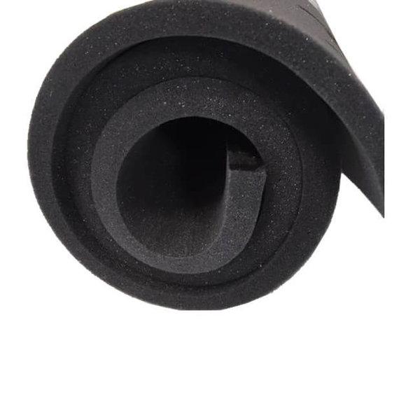 Dun polyether SG25 aan de meter: 2cm dik (€10,- per meter) - Antraciet