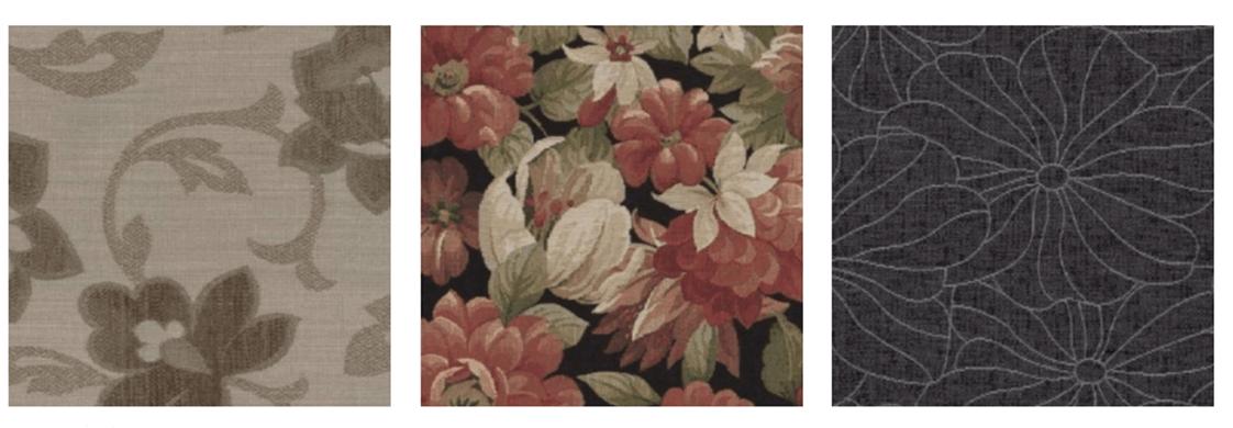 Meubelstof bloem