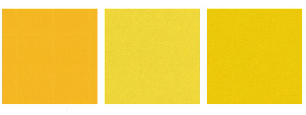 Gele meubelstoffen