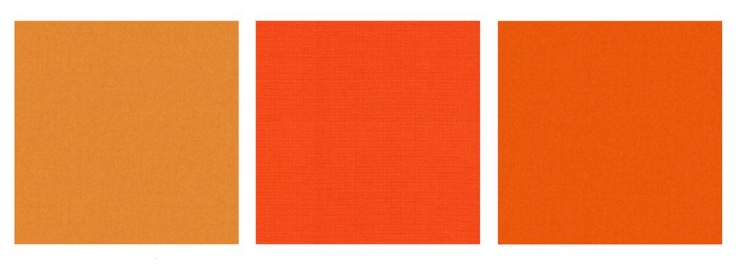 Oranje meubelstoffen