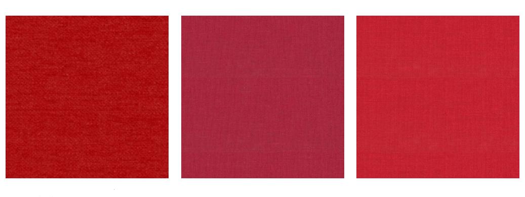 Rode meubelstoffen