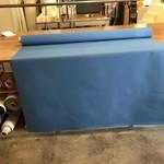 Polpal Orlando (jeansblauw) - outdoor stof