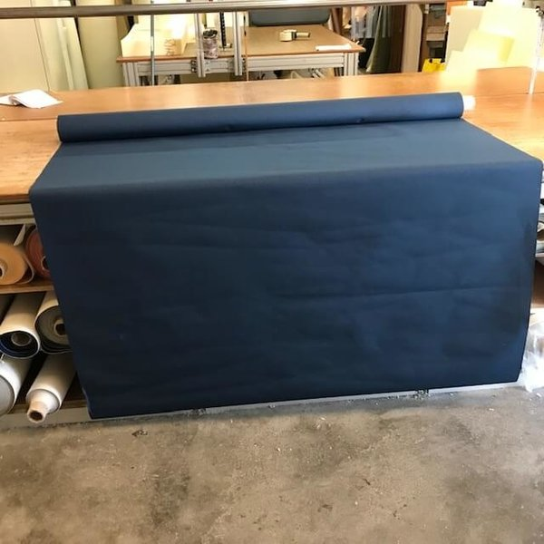 Polpal Orlando (donkerblauw) - outdoor stof