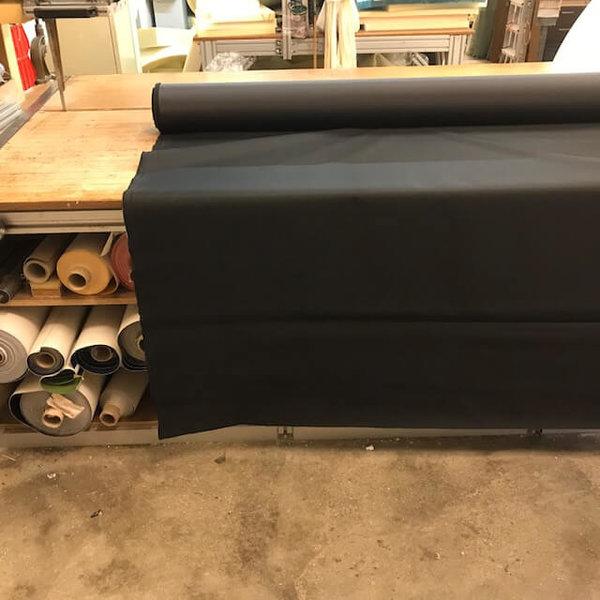Polyesterdoek  (zwart) - outdoor stof