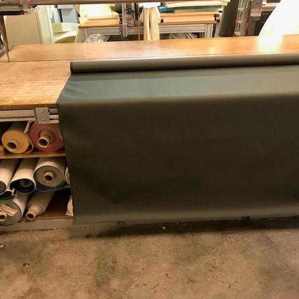 Polyesterdoek  (olijfgroen) - outdoor stof