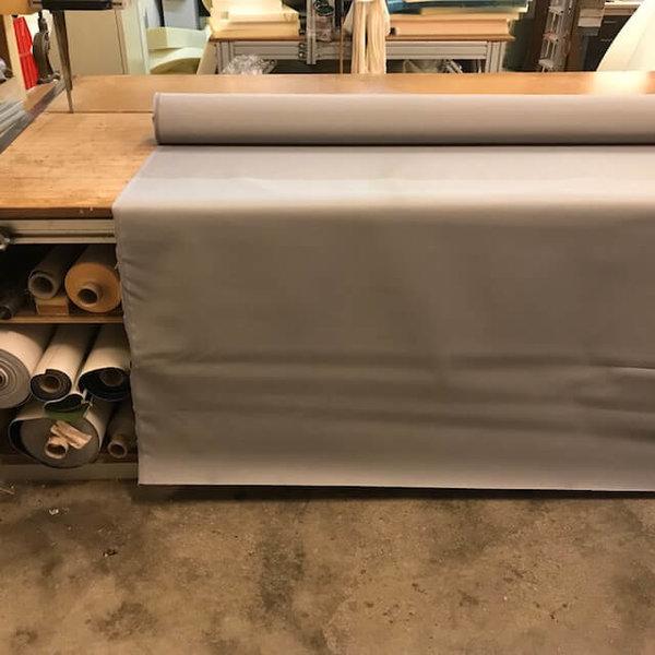 Polyesterdoek (zilvergrijs) - outdoor stof
