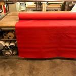 Polyesterdoek  (rood) - outdoor stof