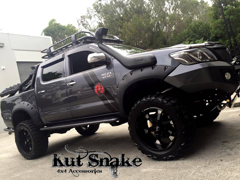 Toyota Fender Flares for Toyota HiLux  2005-2014 - 95 mm wide