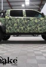 Toyota Spatbordverbrders voor Toyota HiLux  2005-2014 - 95 mm breed