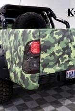 Toyota Spatbordverbrders voor Toyota Hi-Lux  2005-2014 - 95 mm breed  - Copy