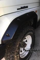 Toyota élargisseurs d'ailes pour Toyota Land Cruiser BJ7#,FJ7#, HJ7#,HZJ7#,HDJ7#,FZJ7#,PZJ7# 1985 up to 2007- 55 mm large